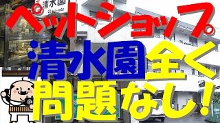 関東連合邑井に営業妨害されたペットショップ清水園について動物愛護センターに聞いてみた【風評被害是正シリーズ】
