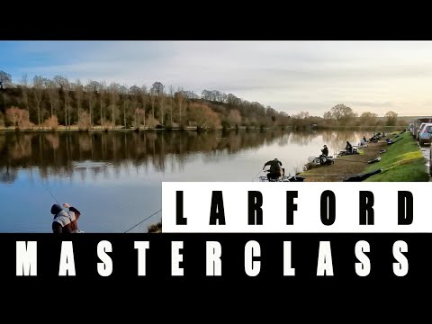 LARFORD FEEDER FISHING MASTERCLASS - SILVER FISH FEEDER FISHING