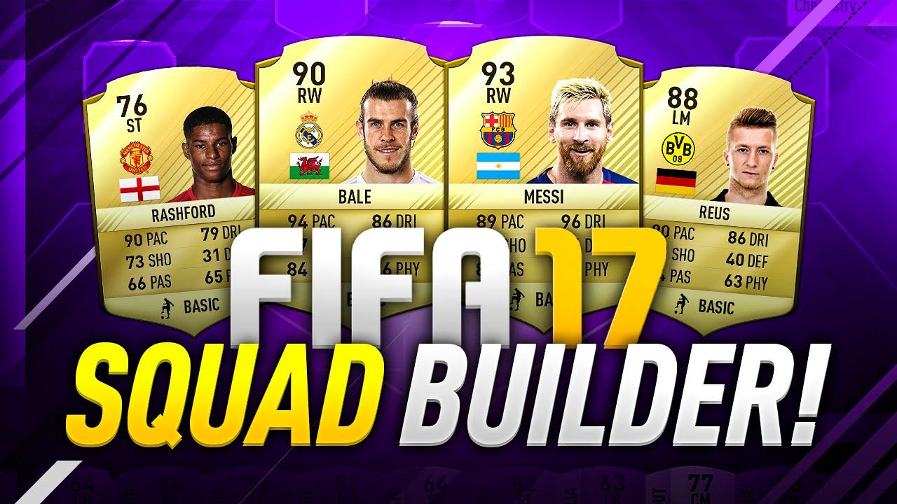 Fifa Squad Builder
