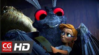 "CGI Animated Short Film ""Attack of the Mothman Short Film"" by Meg Viola,Catrina Miccicke,Khalil Yan"