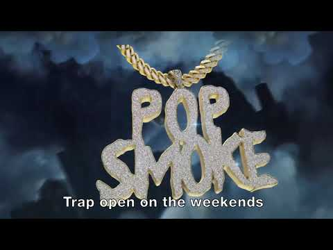 POP SMOKE – MAKE IT RAIN ft. Rowdy Rebel (Official Lyric Video)