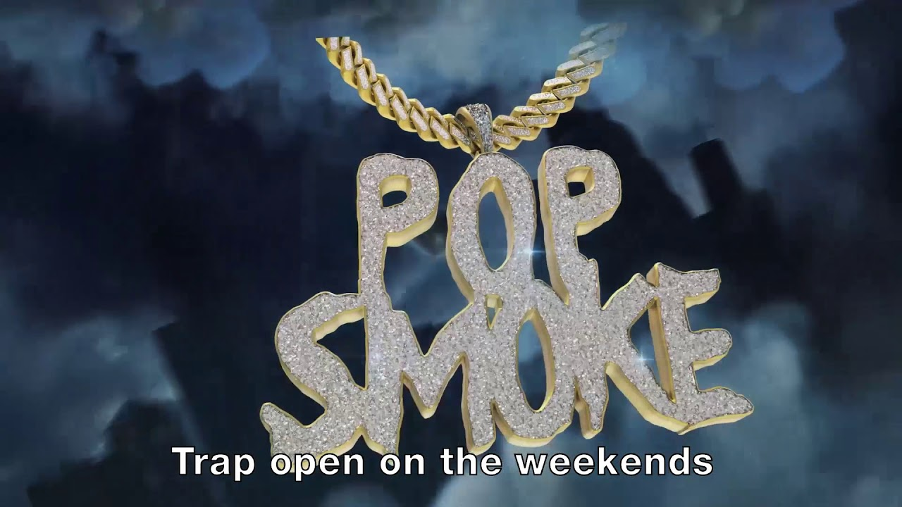 POP SMOKE - MAKE IT RAIN ft. Rowdy Rebel (Official Lyric Video)