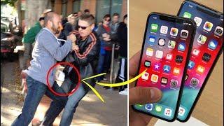 7 Menschen die wirklich ALLES für ein neues iPhone X tun!