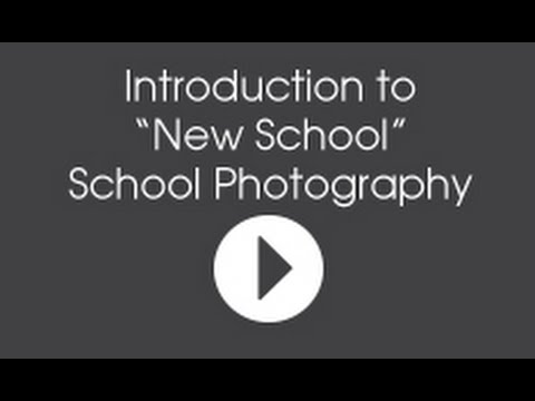 """Introduction to """"New School"""" School Photography, 1 of 5"""