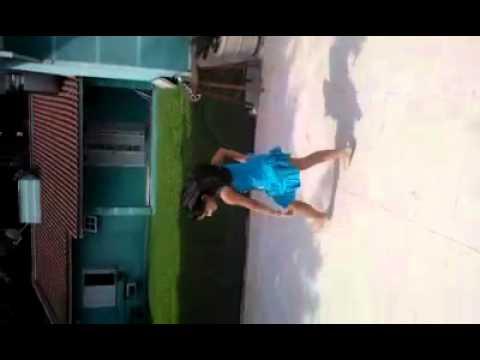 Minha gatinha bailando