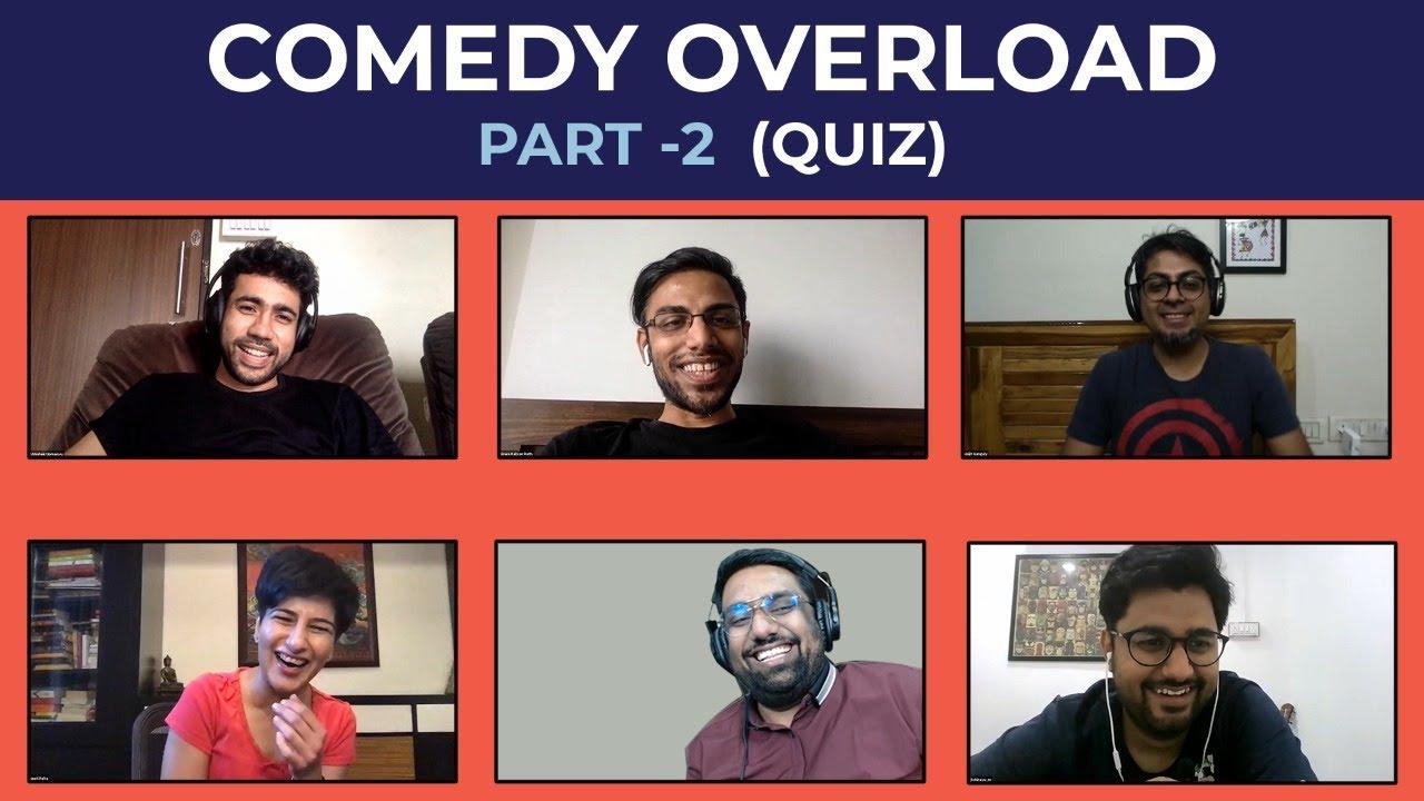 Download Comedy Overload (Pt 2) Quiz ft. @Biswa Kalyan Rath @Abhishek Upmanyu @Neeti Palta @Abijit Ganguly