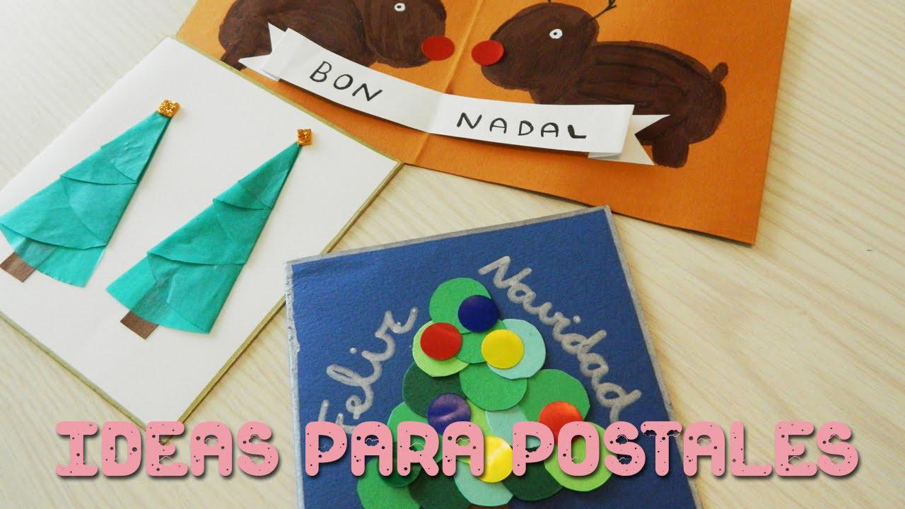 Ideas para postales de navidad diy ni os sandrusqueta for Imagenes de estanques para ninos
