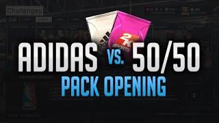 NBA 2K15 My Team Pack Opening - RAVISHING Adidas VS 50/50 Packs!! Xbox One