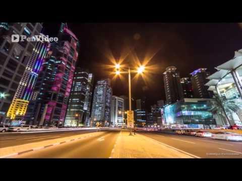 Doha, Qatar timelapse