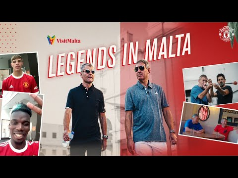 Paul Pogba, Brandon Williams & Lee Grant test legends in Malta  | Manchester United | Visit Malta