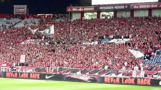 urawa reds supporters(2010/9/25新潟戦)