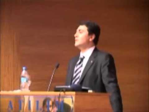 Demokrat Parti Genel Başkanı Gültekin Uysal Atılım Üniversitesinde