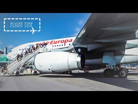 ✈FLIGHT REPORT✈ Air Europa   Airbus A330-200   Madrid-Barcelona   Economy (old cabin)