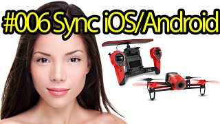 Tutorial #006 Connecting Parrot Bebop Drone To SmartPhones - Drone Camera For Aerial Photos, Videos