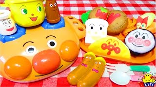 アンパンマン号のキッチンおもちゃでお料理トントン❤︎はじめてのふわふわキッチンにチョロミー ワクワクキューン!子供が夢中になるお子様ランチプレートのままごとセットを紹介するよ❤︎ thumbnail