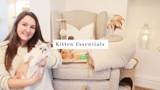 Huge Affordable Kitten Haul ~ Everything you need to bring a kitten home | Neutral Aesthetic