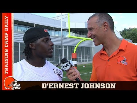 Training Camp Daily: D'Ernest Johnson | Cleveland Browns