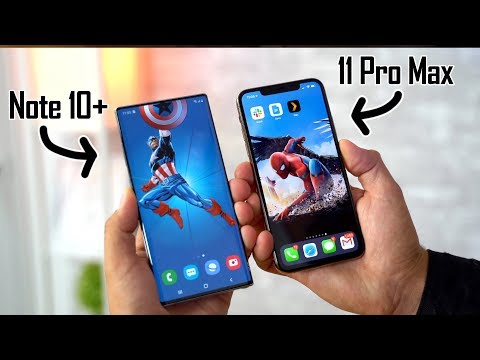 Why The IPhone 11 Pro Display DESTROYS The Note 10's..