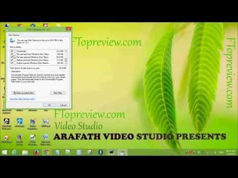 How to clean up windows   Delete Temporary files   Internet Cache file   Windows Tutorial