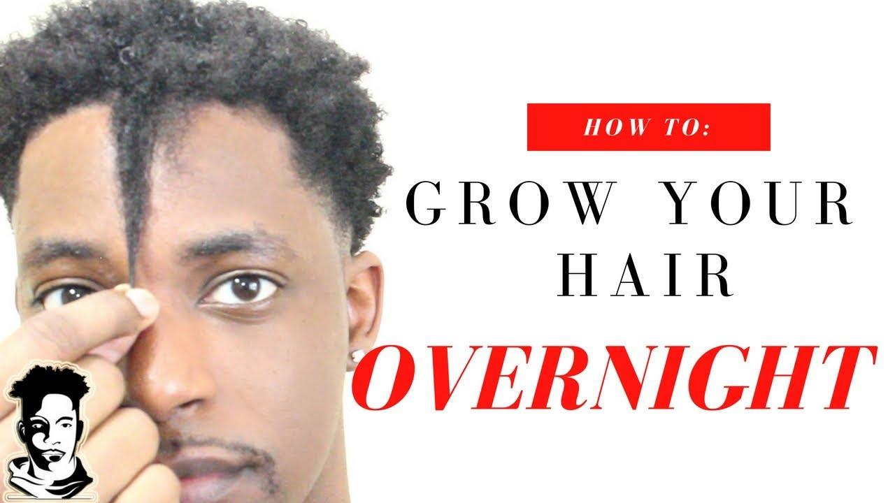 How To Grow Your Hair Overnight Winstonee Youtube