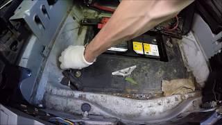 Бмв Х5 е53 снятие и установка аккумулятора своими руками