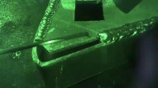Как заварить зазор 9мм. на алюминии.(Аргоновая сварка алюминия. Как заварить зазор 9мм. Всё очень просто.-), 2016-05-04T10:02:52.000Z)