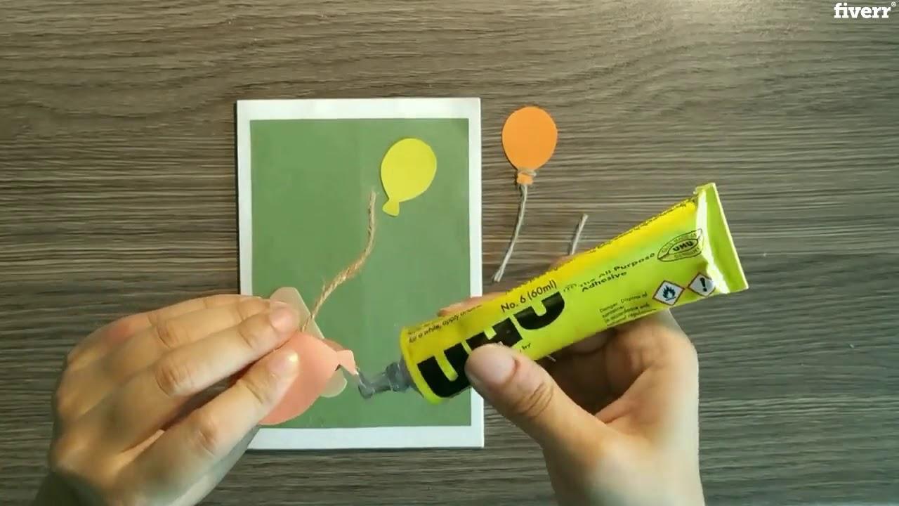 I will make handmade cards with tutorials - YouTube