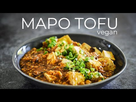 ULTIMATE VEGAN MAPO TOFU RECIPE | ONE OF MY FAVOURITE CHINESE DISHES 麻婆豆腐