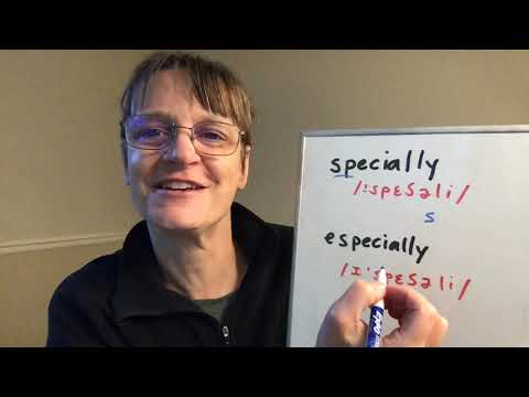 How to Pronounce Special, Specially and Especially (American Accent from SpeechModification.com)