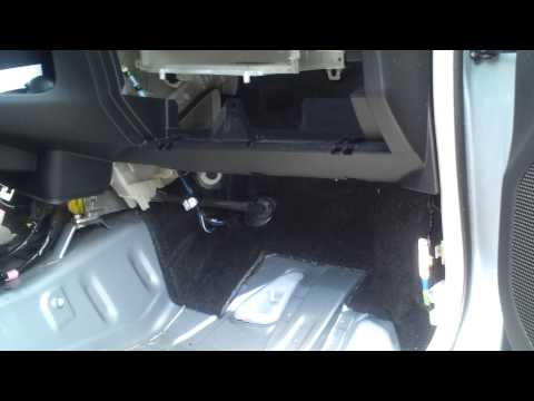 Toyota Matrix How To Fix A Water Leak Inside Car From W