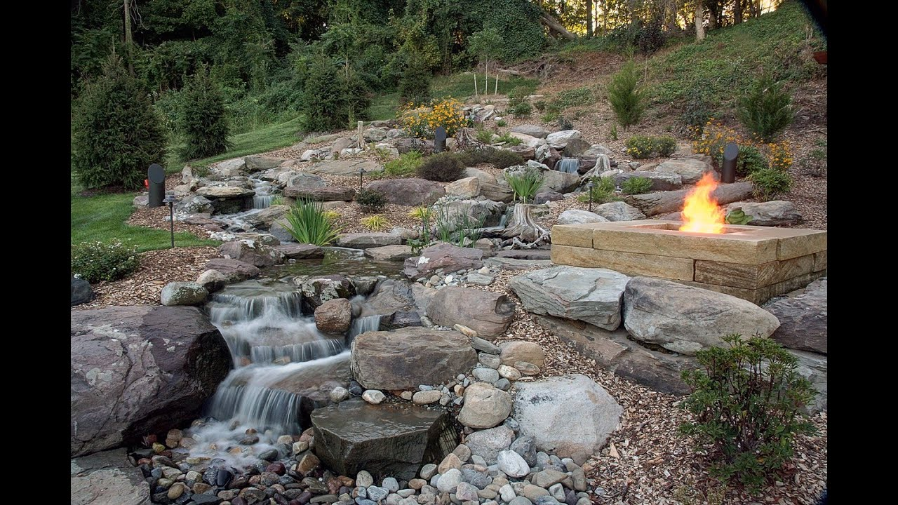 Natural Stone Square Fire Pit