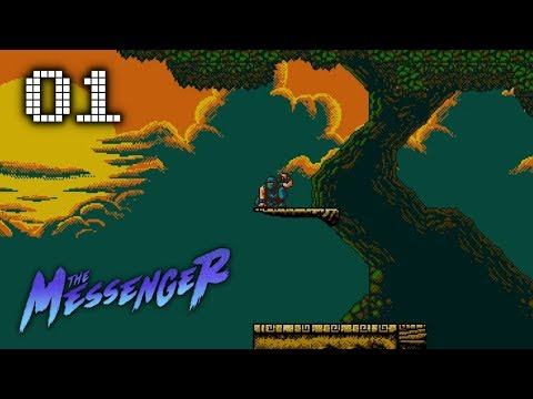 🕹 The Messenger (Indie, Retro Style Ninja Game) Let's Play! #1 |