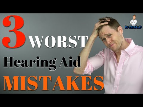 3 Worst Mistakes When Buying Hearing Aids