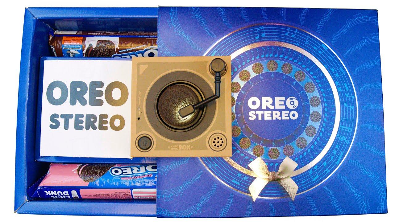 Oreo Stereo Oreo Music Box Youtube
