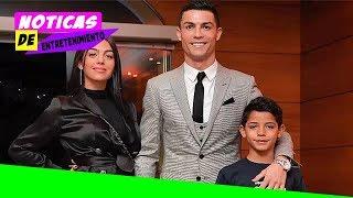 Cristiano Ronaldo y Georgina Rodríguez, orgullosos de su mini estrella del fútbol
