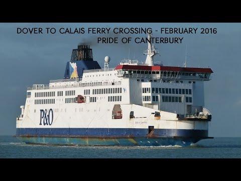 Dover to Calais Ferry - February 2016