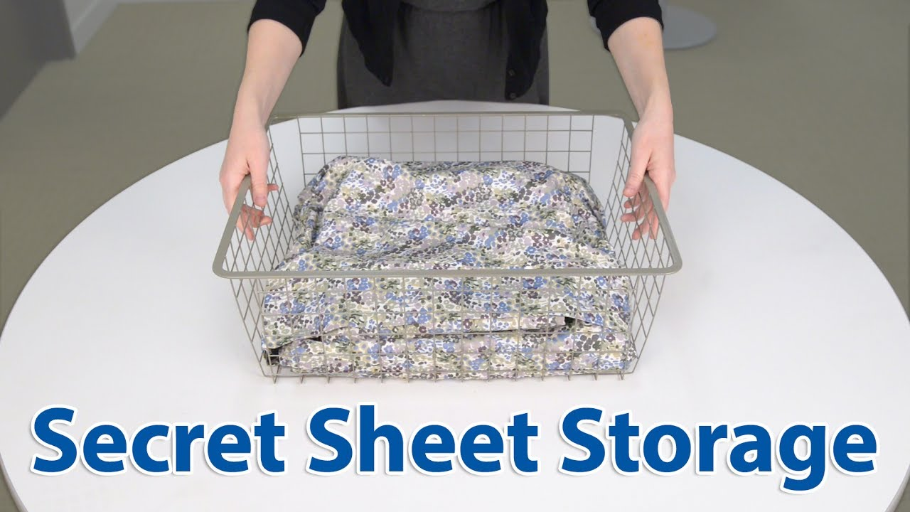Best Way To Fold And Store Sheets