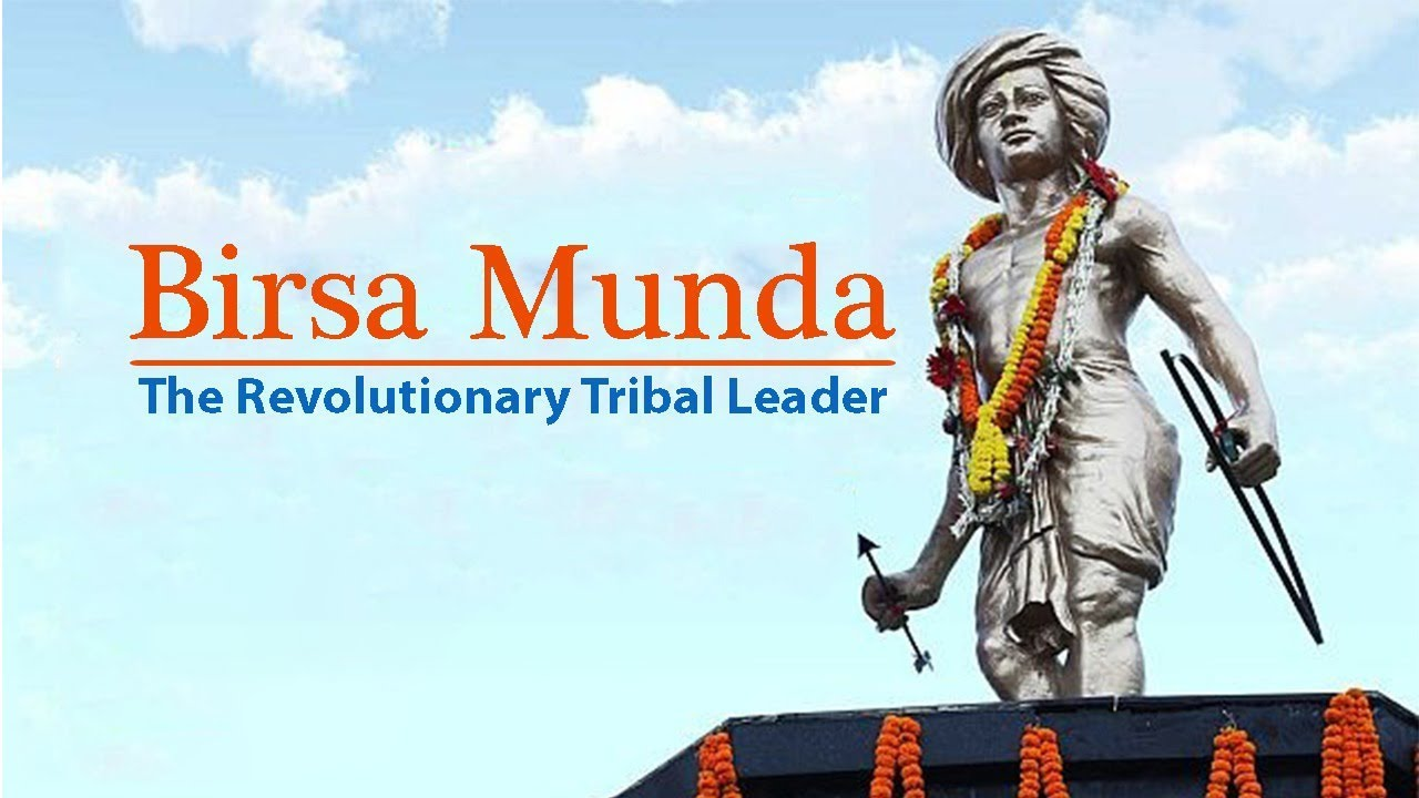 Birsa Munda: The Revolutionary Tribal Leader - YouTube