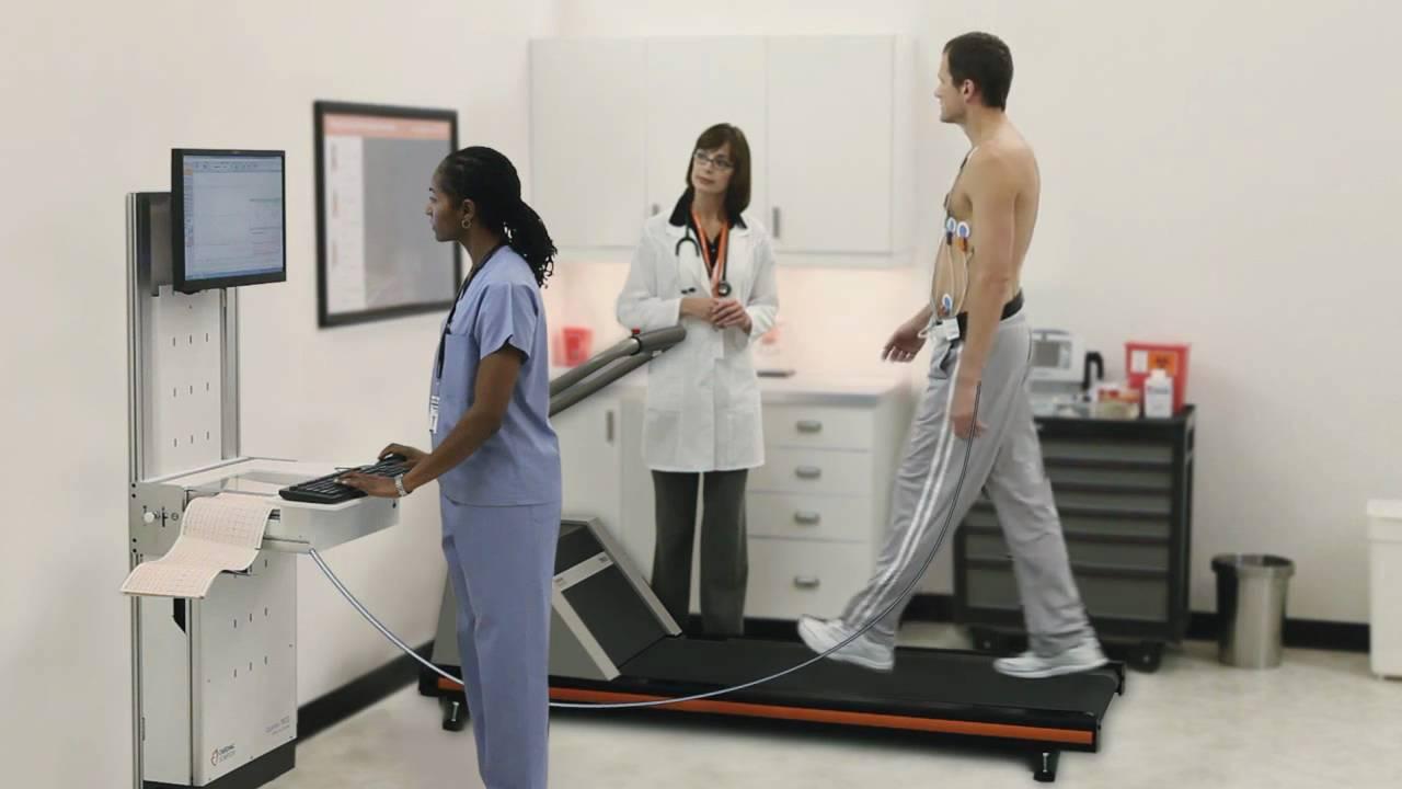 stress sperm Cardiac test and