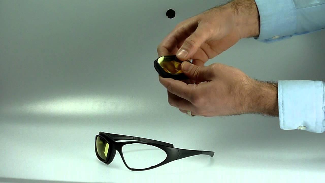 How to change the lenses on the Davida WRS 74 Kit