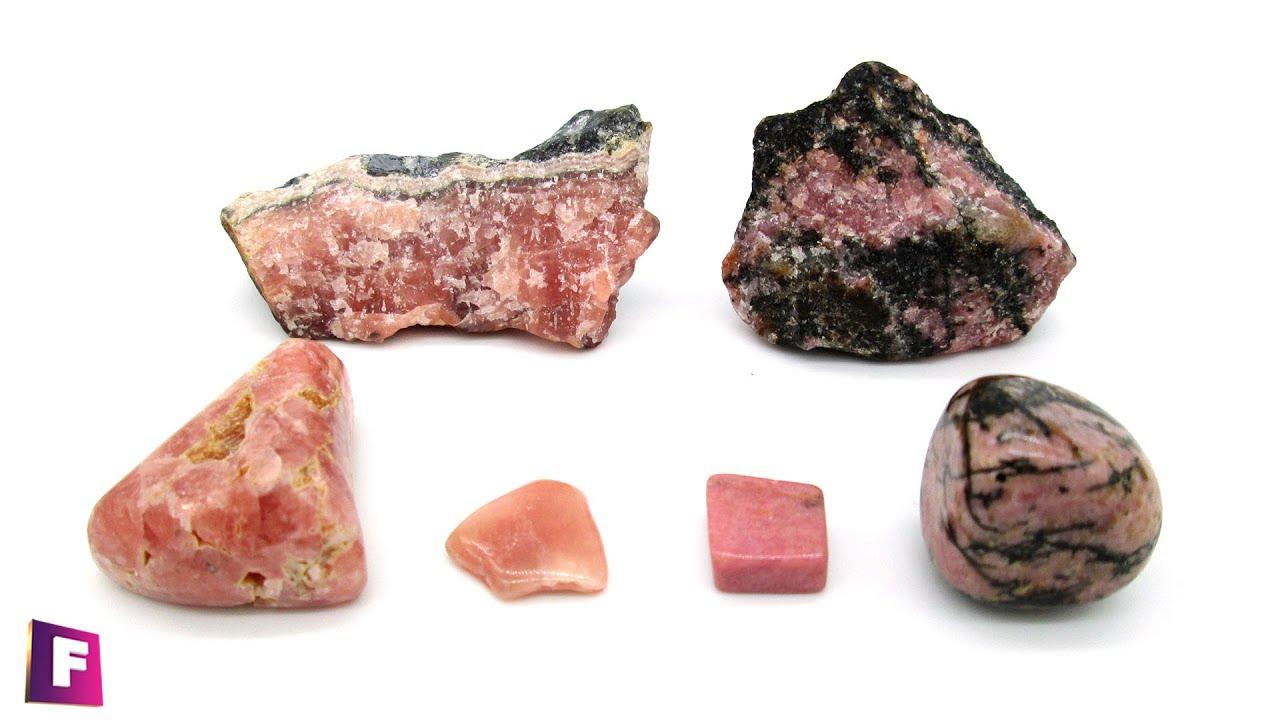 Rodocrosita vs Rodonita💎- Minerales Parecidos #2 (Como Identificarlas Fácilmente)