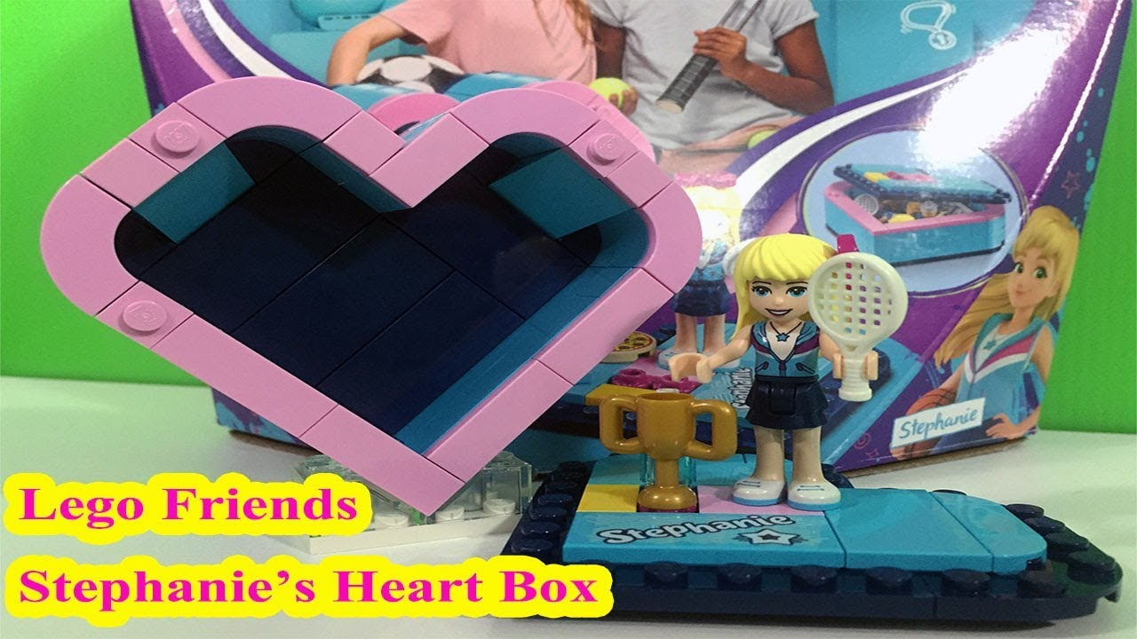 LEGO® Friends Stephanie/'s Heart Box 41356