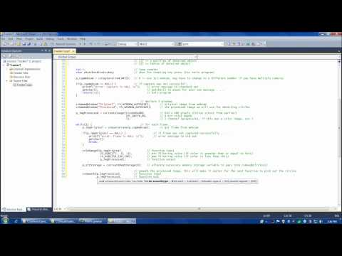 OpenCV tutorial 5: Emgu CV with C#