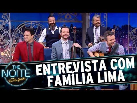 Entrevista com Família Lima   The Noite (28/11/16)