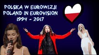 Polska w Eurowizji | Poland in Eurovision 1994 - 2017