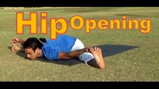 Hip Opening in Upavistha Konasana | Seated Wide Angle Yoga Pose | 2 Minutes Yoga Health