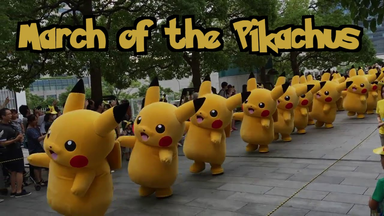 March Of The Pikachus The Winkies Of Oz Chant Youtube