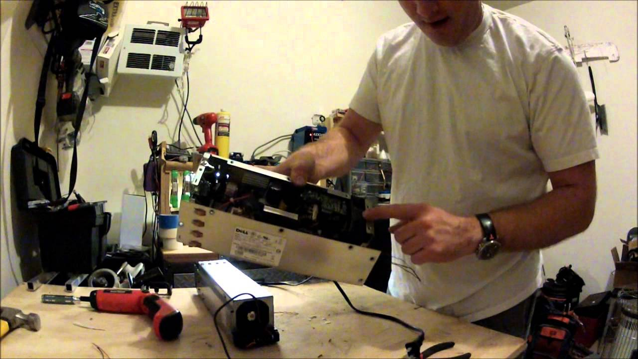 How To Convert A Dell Server Power Supply To 12v Bench