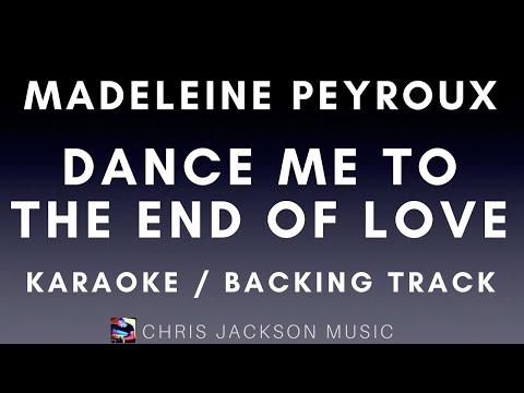 Dance Me To The End of Love - Madeleine Peyroux version Backing Track / Karaoke FREE