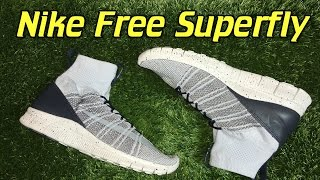 Nike Free Flyknit Mercurial Superfly Pure Platinum - Review + On Feet